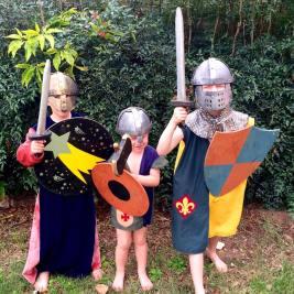 Medieval fair costumes