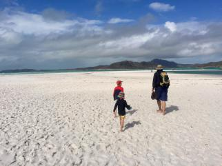 White sand, Whitsunday Islands, Australia
